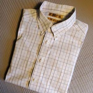 Men's pinpoint dress shirt